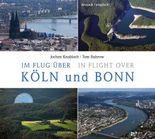 Im Flug über Köln und Bonn. In Flight over Köln and Bonn