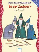 Mein Rätsel-Übungsblock - Bei den Zauberern