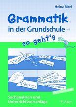 Grammatik in der Grundschule - so geht's