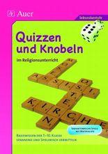Quizzen und Knobeln im Religionsunterricht
