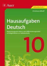 Hausaufgaben Deutsch Klasse 10