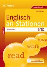 Englisch an Stationen SPEZIAL - Textarbeit 9/10, m. Audio-CD