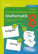 Lerninhalte selbstständig erarbeiten, Mathematik 8