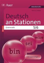 Deutsch an Stationen SPEZIAL Grammatik 5-6