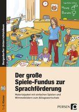Der große Spiele-Fundus zur Sprachförderung, m. CD-ROM