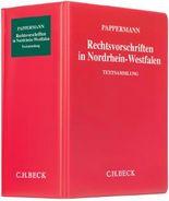 Rechtsvorschriften in Nordrhein-Westfalen