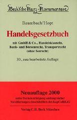 Beck'sche Kurzkommentare, Bd.9, Handelsgesetzbuch