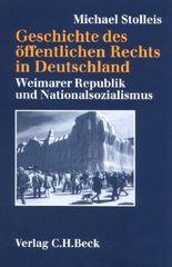 Geschichte des öffentlichen Rechts in Deutschland