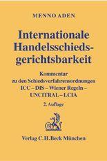 Internationale Handelsschiedsgerichtsbarkeit