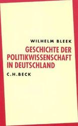 Geschichte der Politikwissenschaft in Deutschland
