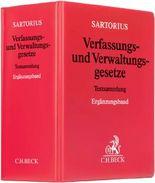 Verfassungs- und Verwaltungsgesetze Ergänzungsband. Rechtsstand: 1. Februar 2008 / Verfassungs- und Verwaltungsgesetze Ergänzungsband