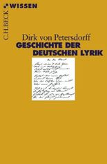 Geschichte der deutschen Lyrik