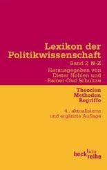 Lexikon der Politikwissenschaft Bd. 2: N-Z