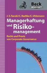 Managerhaftung und Risikomanagement