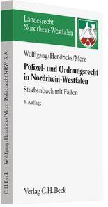 Polizei- und Ordnungsrecht in Nordrhein-Westfalen