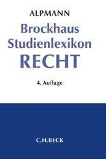 Brockhaus Studienlexikon Recht