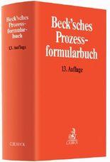 Beck'sches Prozessformularbuch, m. CD-ROM