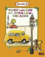 Tiger und Bär im Straßenverkehr
