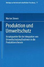 Produktion und Umweltschutz