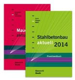 Stahlbetonbau aktuell 2014 + Mauerwerksbau aktuell 2014, 2 Bde.