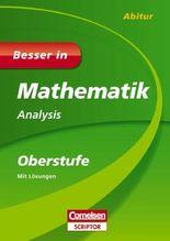 Besser in Mathematik - Analysis Oberstufe