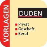 Duden-Vorlagensammlung - Privatkorrespondenz