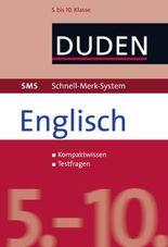 SMS Englisch 5.-10. Klasse: 5. bis 10. Klasse (Duden SMS - Schnell-Merk-System)
