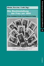 Die Rechtsstellung der Frau um 1900