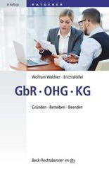GbR – OHG – KG