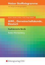 Stofftelegramme AWL, Gemeinschaftskunde, Deutsch