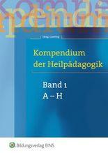 Kompendium der Heilpädagogik - Band 1