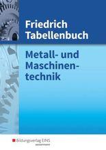 Friedrich Tabellenbuch Metall- und Maschinentechnik