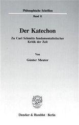 Der Katechon.