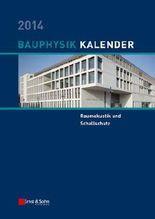Bauphysik-Kalender 2014
