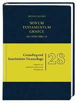 Novum Testamentum Graece (Nestle-Aland): mit griechisch-deutschem Wörterbuch