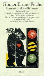Band 1: Romane und Erzählungen
