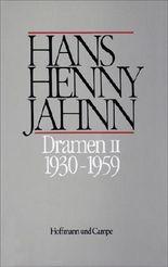 Werke in Einzelbänden. Hamburger Ausgabe / Dramen II