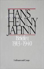 Werke in Einzelbänden. Hamburger Ausgabe / Briefe I