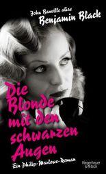 Die Blonde mit den schwarzen Augen