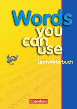 Words you can use / Lernwörterbuch