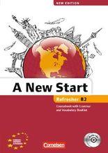 A New Start - New edition / B2: Refresher - Kursbuch mit Audio CD, Grammatik- und Vokabelheft