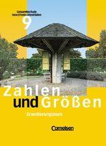 Zahlen und Größen. Gesamtschule Nordrhein-Westfalen / 9. Schuljahr - Erweiterungskurs - Schülerbuch
