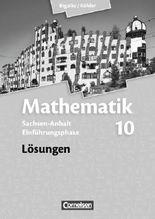 Bigalke/Köhler: Mathematik Sekundarstufe II - Sachsen-Anhalt - Neue Ausgabe 2014 / Einführungsphase - Lösungen
