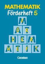 Mathematik Sonderschule. Förderhefte / Band 5 - Heft