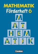 Mathematik Sonderschule. Förderhefte / Band 6 - Heft