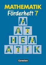 Mathematik Sonderschule. Förderhefte / Band 7 - Heft