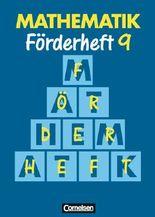 Mathematik Sonderschule. Förderhefte / Band 9 - Heft
