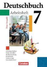 Deutschbuch - Gymnasium - Allgemeine Ausgabe/Neubearbeitung. Sprach- und Lesebuch / 7. Schuljahr - Arbeitsheft mit Lösungen