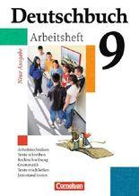Deutschbuch - Gymnasium - Allgemeine Ausgabe/Neubearbeitung / 9. Schuljahr - 6-jährige Sekundarstufe I - Arbeitsheft mit Lösungen