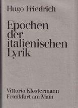 Epochen der italienischen Lyrik